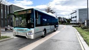 Un modèle de bus au gaz naturel sera exposé à l'Élysée.