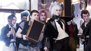 John Cameron Mitchell's How to Talk to Girls at Parties, opening film at Champs-Elysées Film Festival. Nicole Kidman is a senior punk initiating a girl from outerspace (Elle Fanning), a fellow punk's (Alex Sharp) object of desire.