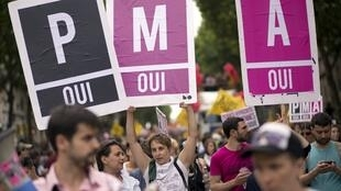The French Senate is to vote Wednesday on the bioethics law that would grant medically assisted procreation (PMA in French) to single and lesbian women.