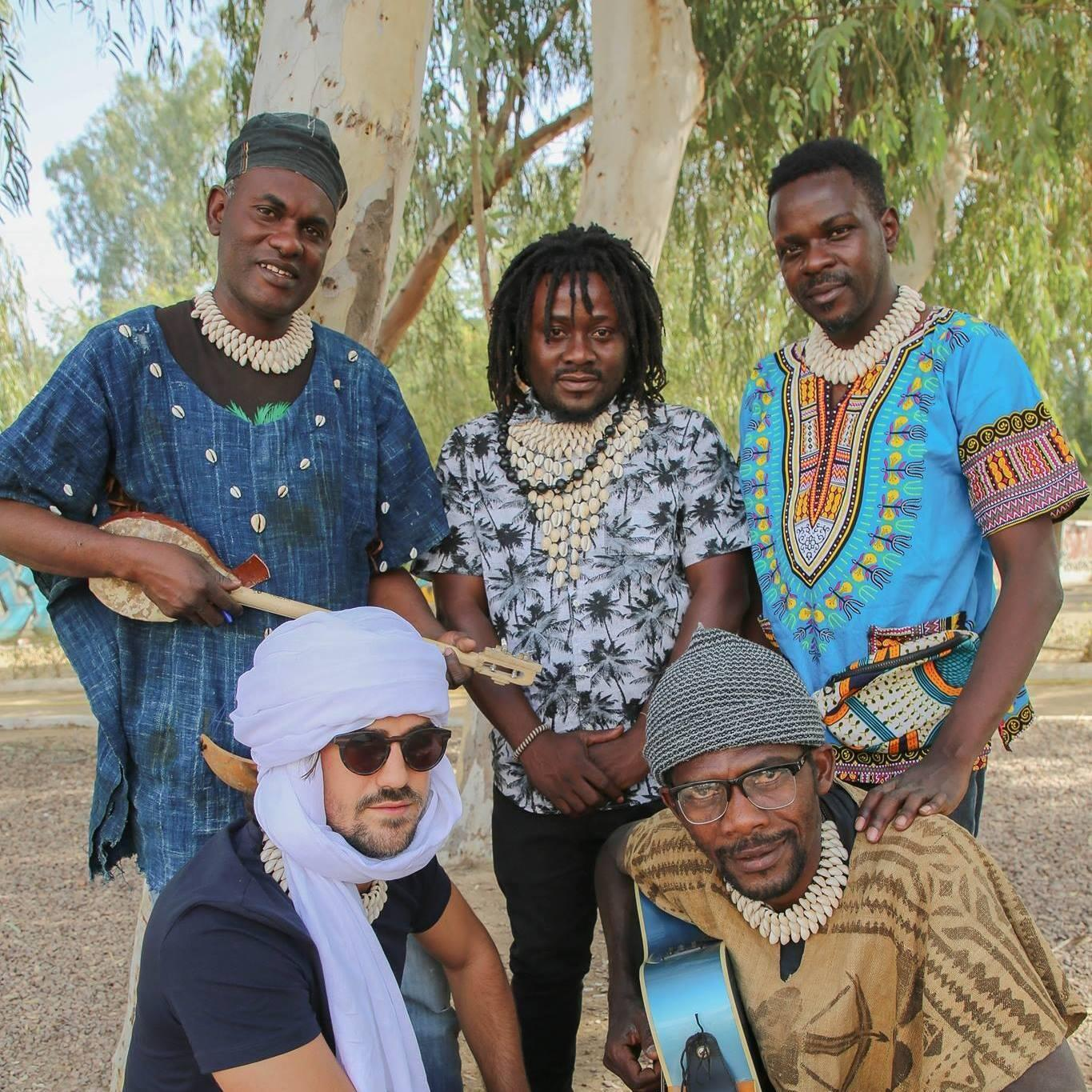 The band, based in N'Djamena, are currently recording songs in lockdown in Lomé