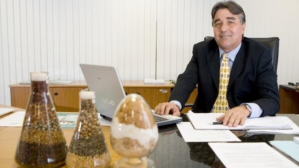 Presidente da Embrapa, Pedro Arraes.