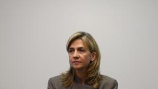 A Infanta Cristina, filha mais nova do rei de Espanha, foi indiciada por corrupção na Espanha.