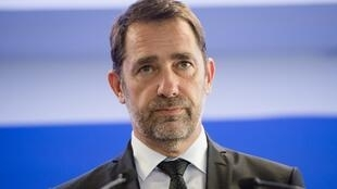The French interior minister, Christophe Castaner.