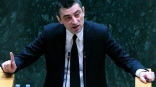 Новый премьер-министр Грузии Георгий Гахария