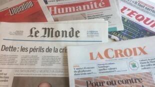 Primeiras páginas dos jornais franceses de 30 de maio de 2018