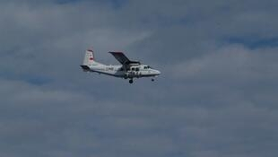 一架中国飞机飞入中日有争议的尖阁列/钓鱼岛海域2012年12月13日