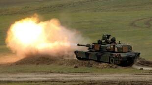 """រថក្រោះ M1A2 """"Abrams"""" ដែលតៃវ៉ាន់ចង់បញ្ជាទិញពីអាមេរិកចំនួន១០៨គ្រឿង"""