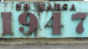 Monument commémoratif de l'insurrection de 1947 à Madagascar.