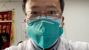 武漢市中心醫院眼科醫生李文亮資料圖片