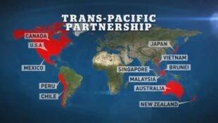 Mapa del TPP.