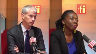 Franck Riester et Danièle Obono à RFI.