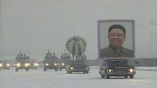 Tang lễ lãnh tụ Bắc Triều Tiên Kim Jong Il, ngày 28/12/2011