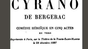 Tapa del libro 'Cyrano de Bergerac' de Edmond Rostand.