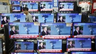 Truyền hình Hàn Quốc loan tin về vụ Bình Nhưỡng thử bom nhiệt hạch