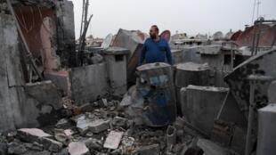 遭受戰火摧殘的敘利亞