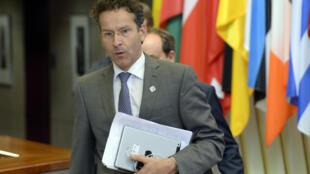 Le président de l'Eurogroupe, Jeroen Dijsselbloem;