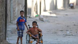 ساکنان حلب