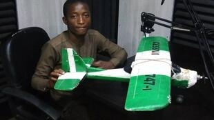 Shamsudden Jubrin, Young Nigerian who manufacture drone