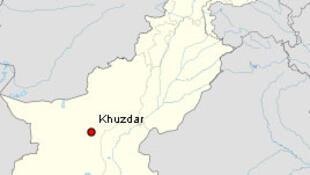 O epicentro do terremoto foi registrado a 100 km da cidade Khuzdar, na província paquistanesa do Baluchistão.