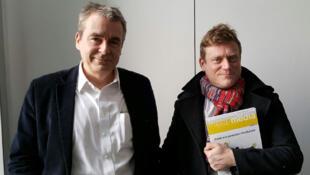 Eric Scherer et Benoît Thieulin.