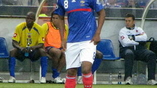 Nicolas Anelka during France-Colombia friendly match.