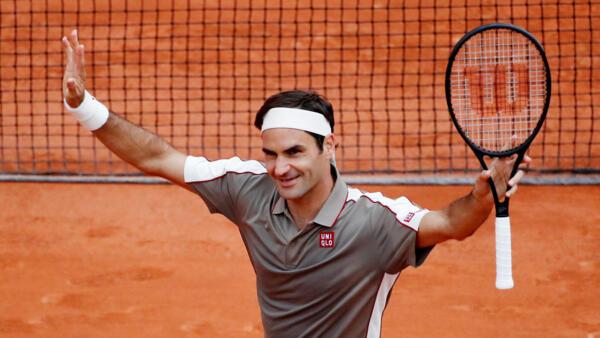 Roger Federer has never beaten Rafael Nadal at the French Open.