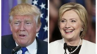 Hillary Clinton e Donald Trump saíram na frente para a disputa à Casa Branca.