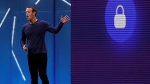 Mark Zuckerberg en 2018 à San Rose.