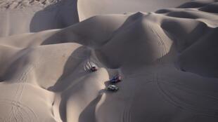 A 41ª edição do Dakar decorre no Peru.