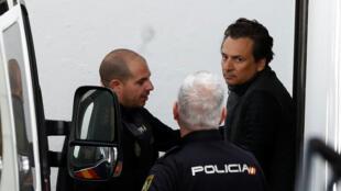 L'ancien patron de Pemex, Emilio Lozoya, a été arrêté en Espagne, le 13 février 2020.