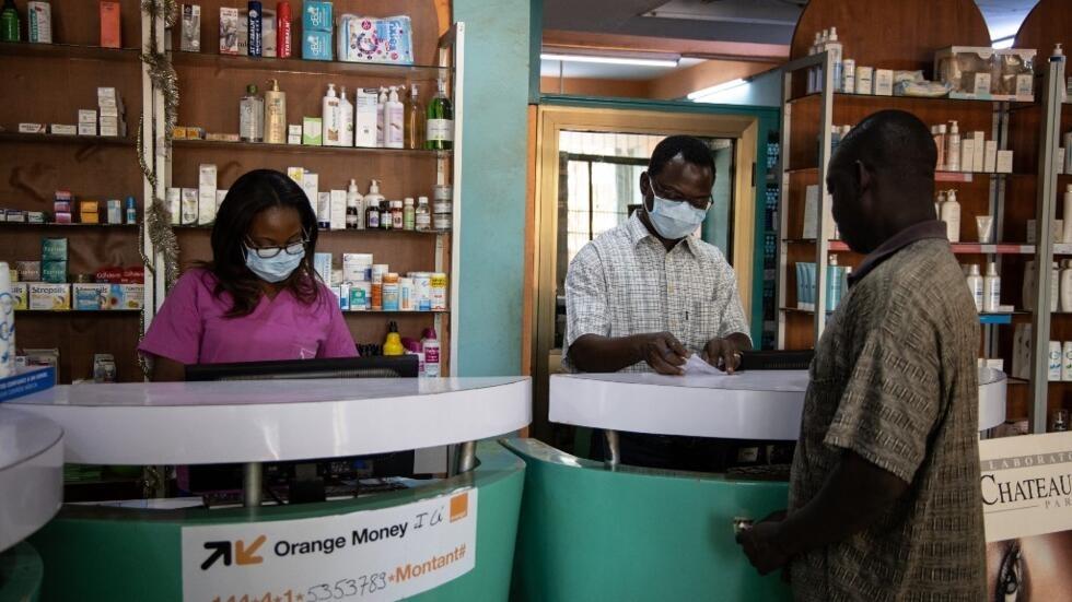 Une pharmacie de Ouagadougou, la capitale du Burkina Faso.