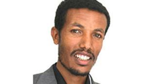 Ethiopian journalist Woubshet Taye