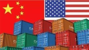 圖為中美貿易圖片