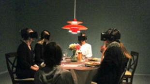 Expérience virtuelle d'art visuel à Copenhague.