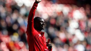 L'international sénégalais Sadio Mané lors d'une rencontre face à Brighton en championnat anglais, le 13 mai 2018.