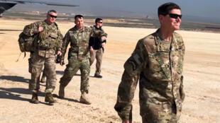 駐敘利亞美軍。