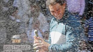 Шампанское победителя (Rafael Nadal), Мадрид, 12 мая 2013 года