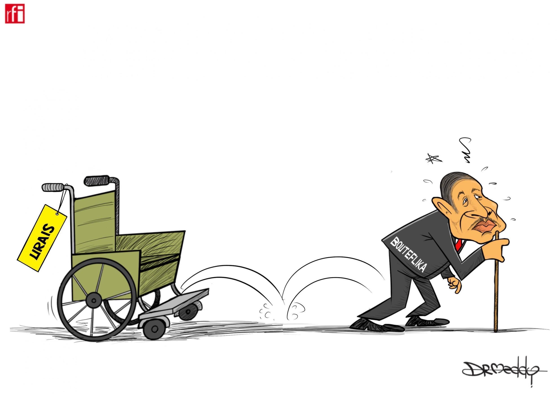 Shugaban Algeria Abdulaziz Bouteflika ya yi murabus cikin rashin lafiya (03/04/2019).