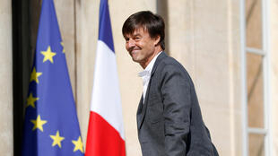 French Ecology Minister Nicolas Hulot