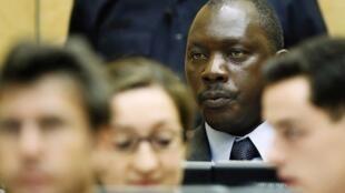 Thomas Lubanga compareceu ao julgamento nesta terça-feira.