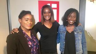 Mathania Bukasa Mfuni, Diara Ndiaye et Goundo Diawara.