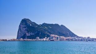 O rochedo de Gibraltar.