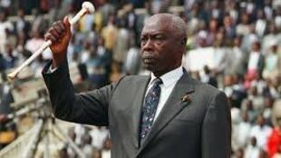 Rais wa zamani wa Kenya Daniel Arap Moi