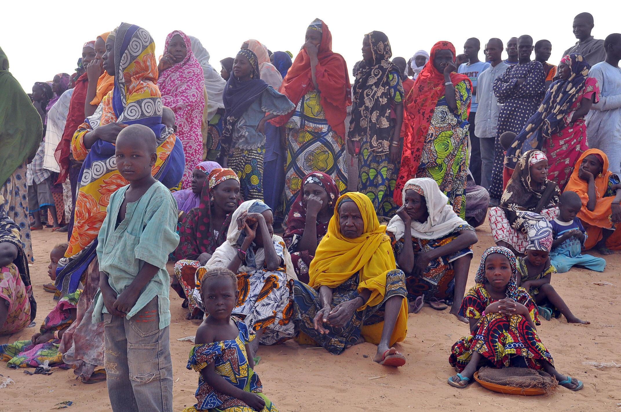 Kananan yara da mata ne Boko Haram ta raba da muhallansu a Najeriya da Nijar