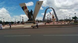 La place de la Nation, dans le centre de Ndjamena.