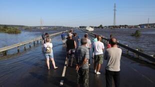 После первого наводнения в Тулуне. 1 июля 2019 г.