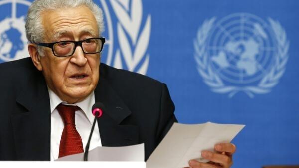 Le médiateur international Lakhdar Brahimi, qui préside la conférence, a estimé mercredi que la glace était «en train de se rompre» à Genève entre représentants de l'opposition et du gouvernement syriens.