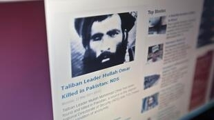 Веб-сайт Tolonews, разместивший сообщение об убийстве Муллы Омара 23/05/2011