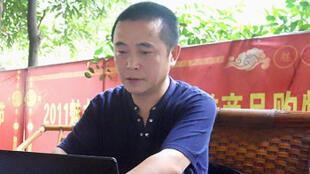 """大陆维权网站""""六四天网""""网站负责人黄琦资料图片"""