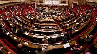 Panorama of the French National Assembly floor, September 2009.